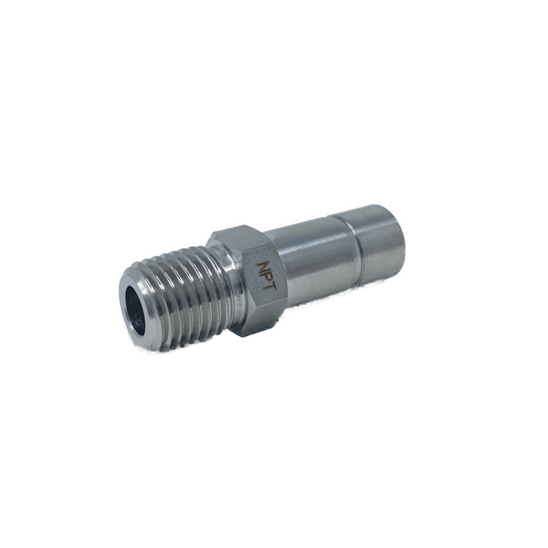 "SMA 4-4N : Superlok 1/4"" Tube Stub X 1/4"" Male NPT Adapter"
