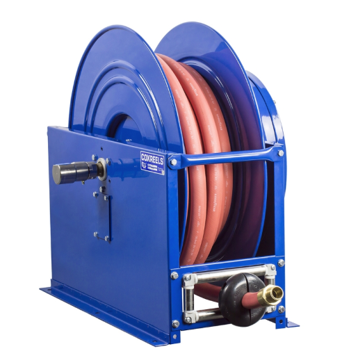 SMPL-675 : Coxreels SMPL-675 Single Hose Spring Rewind: 1-inch I.D., 75' hose capacity, without hose, 2000 PSI