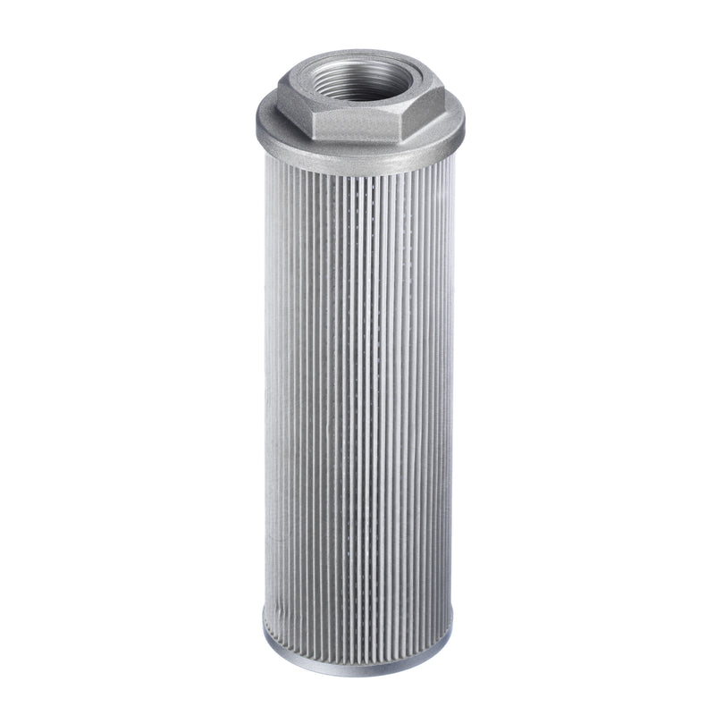 "SUS-150-N40-213-125-A-B0.2 : Stauff Suction Strainer, Aluminum End Cap, 2.5"" NPT, 88.4GPM, 125 Micron, 3psi Bypass"