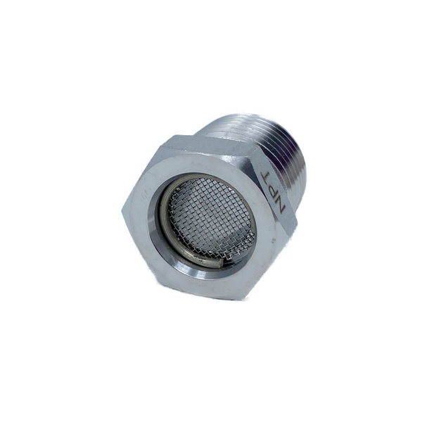 "SVP-6N-S316 : Superlok 0.375 (3/8"") Male NPT Vent Protector"