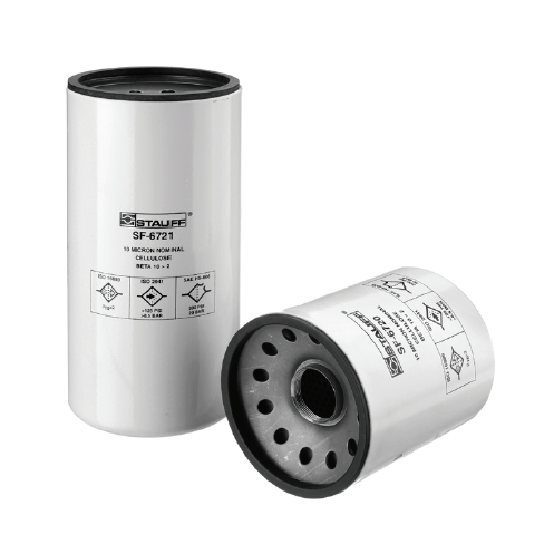 SF-6731-MG : Stauff Spin-On Filter Element, 12 Micron, Inorganic Glass Fiber, Long Element, Synthetic, for use with SSF Filter Heads
