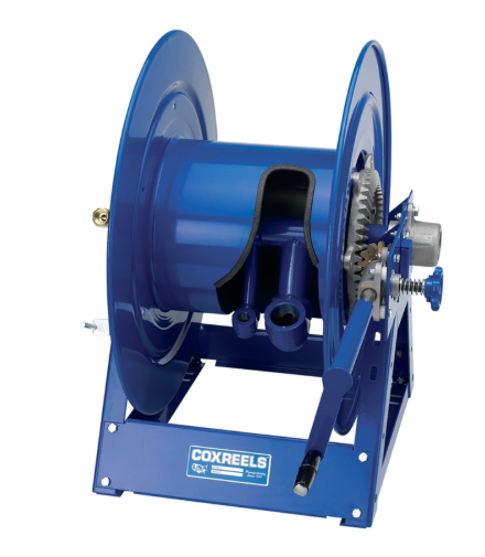 "V-1175-850-T : Coxreels V-1175-850-T Vacuum Only Direct Crank Rewind, 1 1/2"" ID, 50' capacity, NO HOSE"