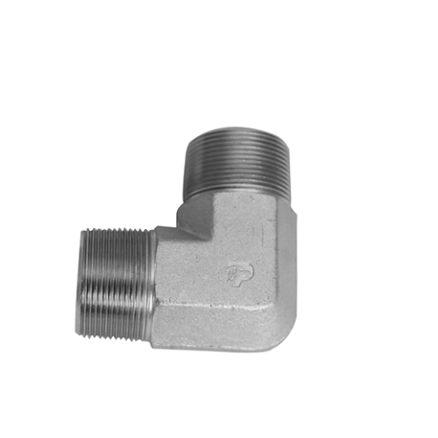 5500-16-12-FG-OHI : OHI Adapter, 1 Male NPT - 0.75 (3/4) Male NPT 90-Degree Elbow Forged