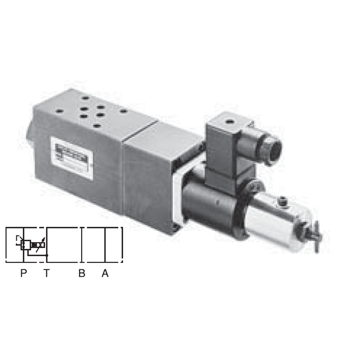 EOG-G01-P2-11 : Nachi D03  Electro-Hydraulic Proportional Pressure Reducing Valve, 87psi to 2000psi Pressure Control Range