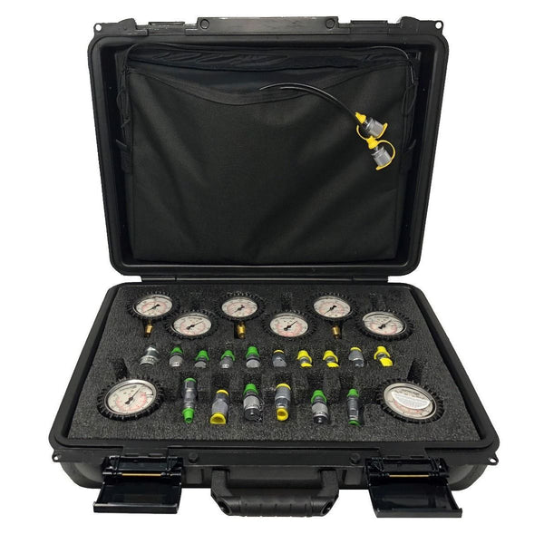 SMB-20-E1-8 : Stauff Complete 8-Gauge Test Kit with Carrying Case