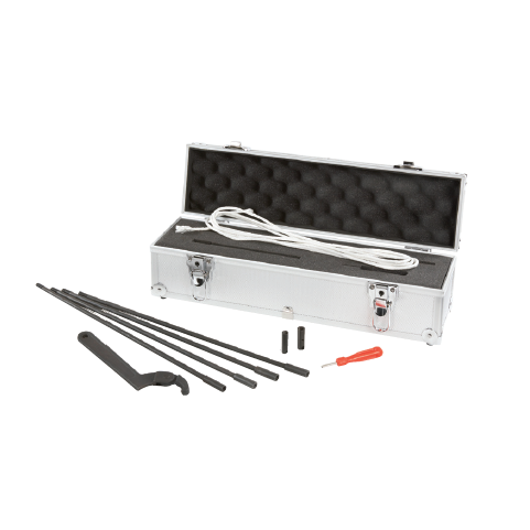 STA-R-1 : Accumulator Repair Kit including Set of pull rods, Hydraulic wrench, Set of gas valve tools, Case and foam