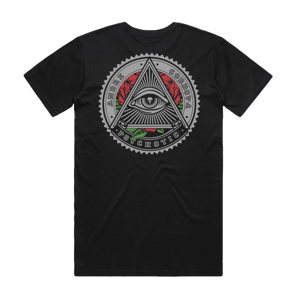 """Psychotic"" T-Shirt - Imprint Merch - Official Merchandise - Print On Demand Austraila"
