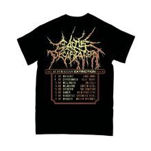 "Load image into Gallery viewer, ""Australian Extinction Tour Tee"" T-shirt - Imprint Merch - Official Merchandise - Print On Demand Austraila"