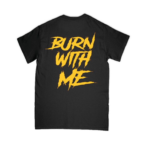 """One Fire (Burn With Me)"" T-Shirt - Imprint Merch - Official Merchandise - Print On Demand Austraila"