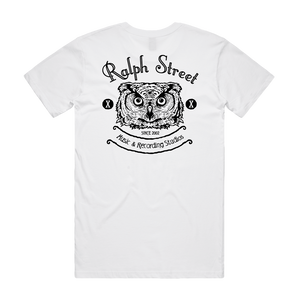 """Ralph Street Logo"" White T-Shirt - Imprint Merch - Official Merchandise - Print On Demand Austraila"