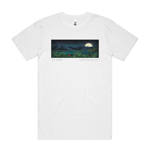 """Disappearing Act"" White T-Shirt - Imprint Merch"
