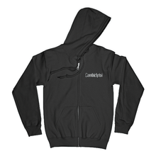 "Load image into Gallery viewer, ""Est 2003"" Zipped Hoodie - Imprint Merch"