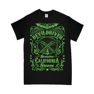 """Genuine California Groove"" T-Shirt - Imprint Merch"