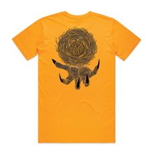 "Load image into Gallery viewer, ""Bundle of Sticks"" Gold T-Shirt - Imprint Merch"