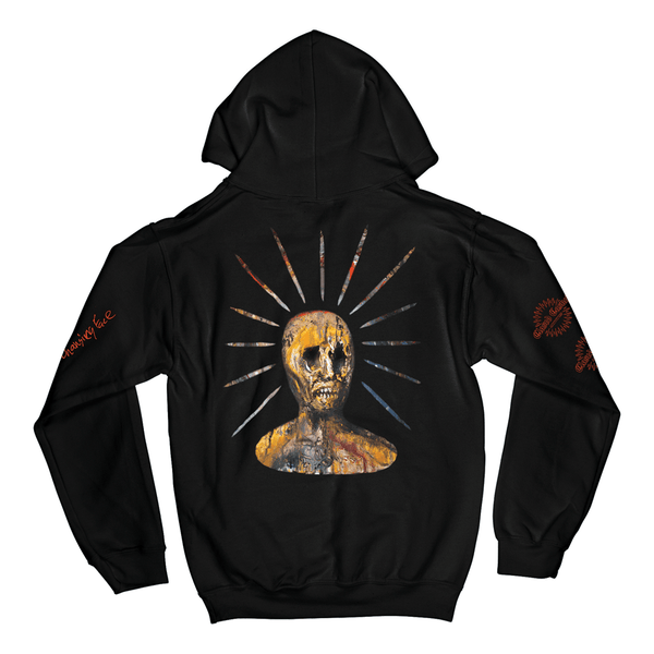 """Splinters From An Ever-Changing Face"" Hoodie - Imprint Merch - Official Merchandise - Print On Demand Austraila"