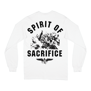 """Spirit of Sacrifice"" L/S T-Shirt - Imprint Merch - Official Merchandise - Print On Demand Austraila"