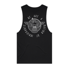 "Load image into Gallery viewer, ""The Shlama Collection"" Barnard Singlet - Imprint Merch"