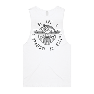 """The Shlama Collection"" Barnard Singlet - Imprint Merch"