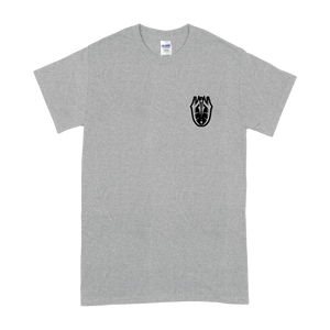 """Tattoo"" Sports Grey T-Shirt - Imprint Merch - Official Merchandise - Print On Demand Austraila"