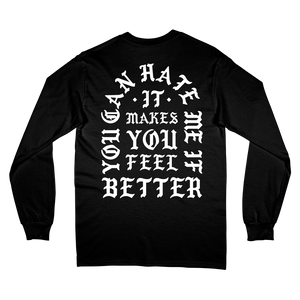 """Make You Feel Better"" L/S T-Shirt - Imprint Merch - Official Merchandise - Print On Demand Austraila"