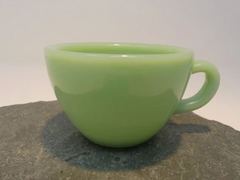 Vintage Jadeite Coffee Cup Mug Retro Cool