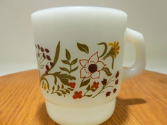 Vintage Fire King Coffee Mug Milk Glass