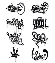 Load image into Gallery viewer, Graffiti Brush Set for iPad Pro Procreate App