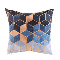 40x40cm Baby Geometric Cushion Cover decorative cushion Throw Pillow Cover Plush Cushion Case Sofa Bed Decorative Pillowcase