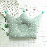 New Baby Shaping Pillow Prevent Flat Head Infants Crown Dot Bedding Pillows Newborn Boy Girl Room Decoration Accessories