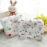 Infant Newborn Baby Shaping Pillow Memory Foam Position Prevent Flat Head Anti Roll Babies Pillows 5 Pattern