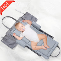 Baby Crib Folding Baby Bed Bag Infant Toddler Cradle Nursery Travel Portable Multifunction Storage For Care American Dropship