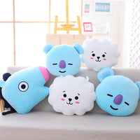 New Arrival Baby Pillows Animal Cartoon Pattern Home Decor Sofa Soft Pillow Sleeping Travel Middle Finger Cat Cushion Plush Toys