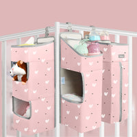Orzbow Baby Bedding Organizer Bed Hanging Bags For Newborn Crib Organizer Baby Care Diaper Storage Bags for kids bed set