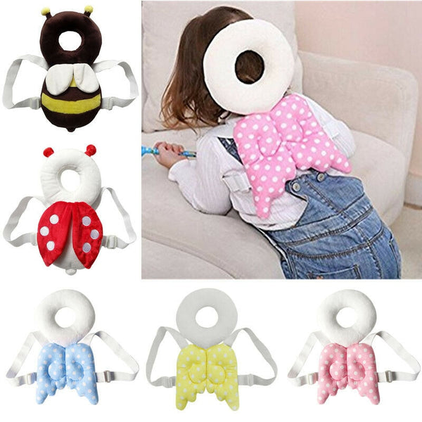 Baby Head Protection Pad Toddler Headrest Pillow Baby Neck Wing Nursing Drop Resistance Cushion Head Back Neck Protection Pillow