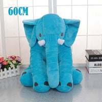 Newborn Baby Pillow Elephant Appease Pillow Infant Kids Baby Bedding Soft Baby Pillow Cushion Stuffed Pillows Gift for Baby Girl