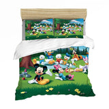 Couple Mickey Minnie Cartoon Bedding Set Children Twin Full King Single Double Size Duvet Cover Pillow Cases Girl Boy Baby Gift