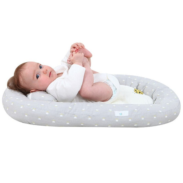Portable Baby Bed Crib Cotton Travel Folding Baby Bed Breathable Lounger Sleeping Bed Infant Toddler Cradle For Baby Care