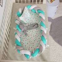 Portable Baby Crib Bumper Fence Baby Bed Infant Game Beds Multifunction Bionic Bed Baby Care Removable And Washable Crib
