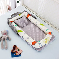 Portable Baby Crib Nursery Travel Bed Foldable Baby Bed Bag Infant Toddler Carry Cot Multifunctional Storage Bag For Baby Care