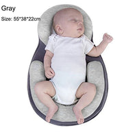 Baby Stereotypes Pillow Infant Mattress Newborn Sleep Protection Cushion Positioning Pad Prevent Flat Head Anti Roll Pillow