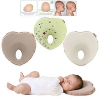 2019 Infant Anti Roll Pillow Shape Toddler Sleeping Positioner Cushion Flat Head Neck Protect Newborn Baby Bedding J0007
