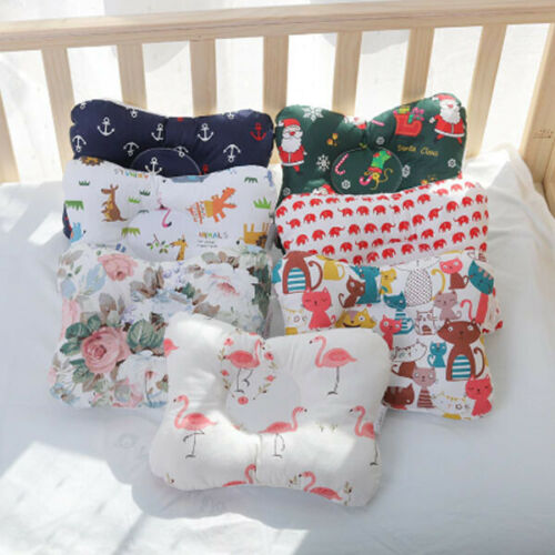 100% Cotton Baby Pillow Newborn Baby Anti Flat Head Baby Sleep Support Pillow