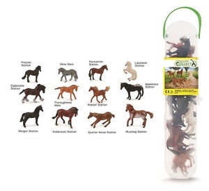 Animal Figurines Tube