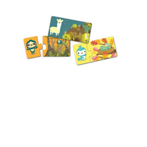 Duo Hide and Seek 24pc Puzzle