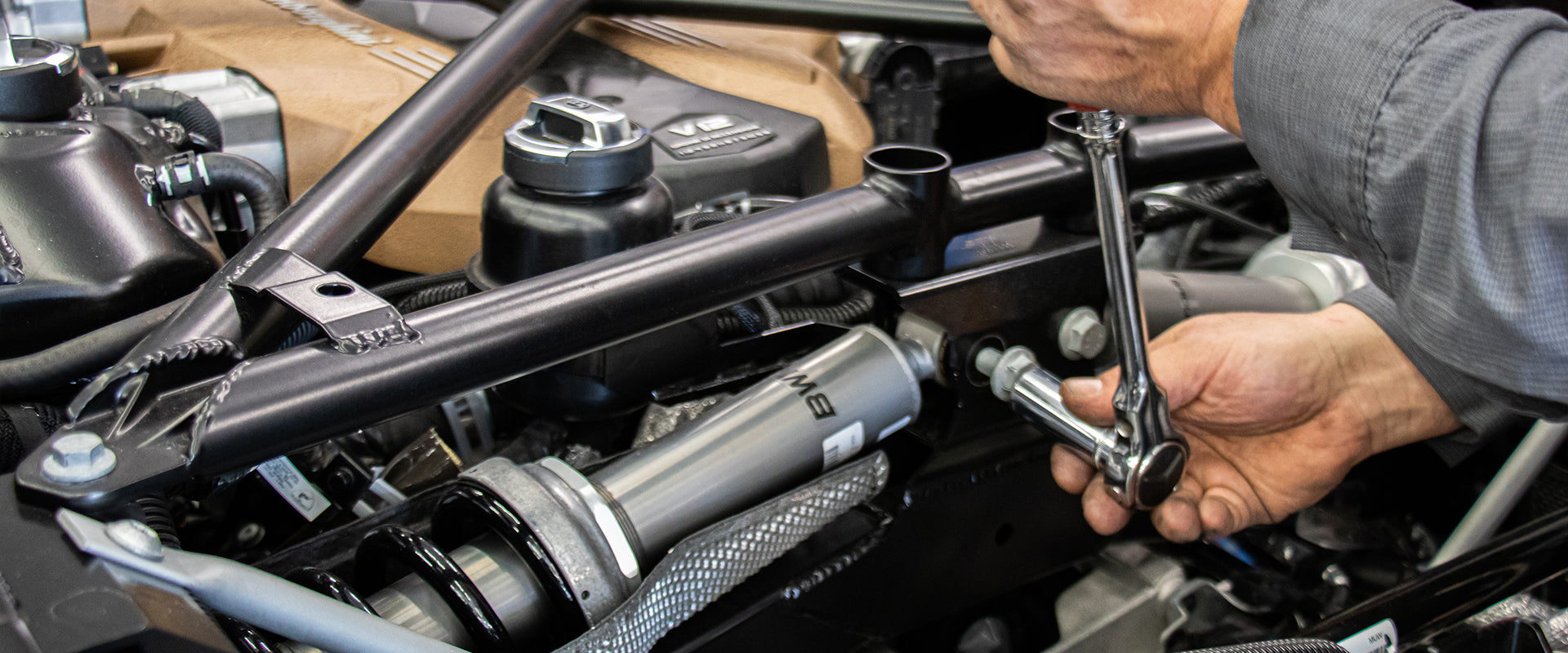 Aftermarket Air Suspension for Exotic Performance Sports Cars and Luxury Vehicles