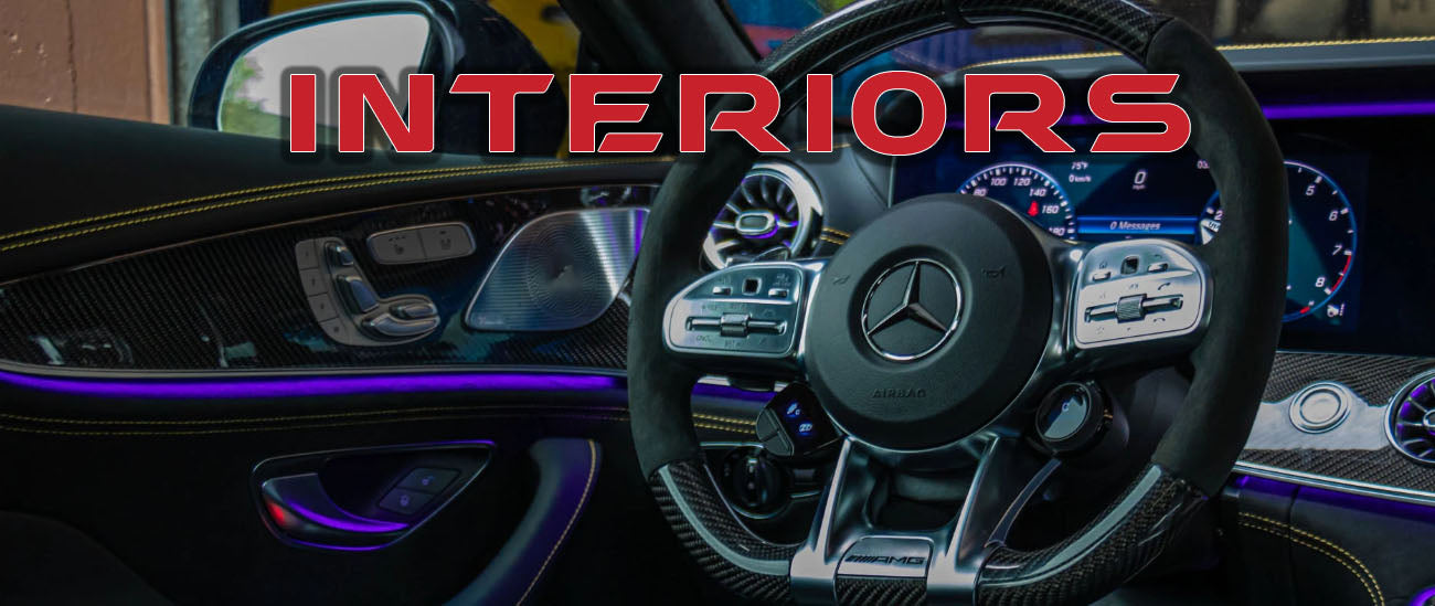 Aftermarket Custom Interiors for Exotic Sports Cars and Luxury Autos