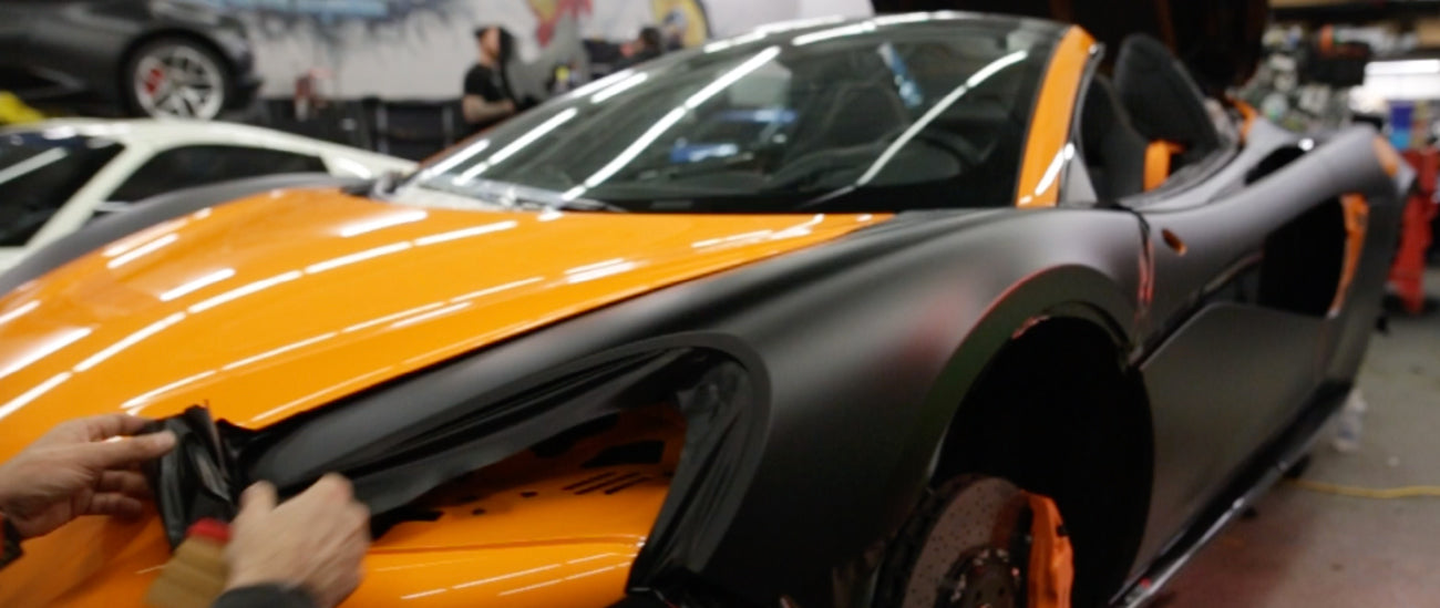 Full Body Wrapping for Exotic Sports Cars and Wrap Luxury Cars in Chicago