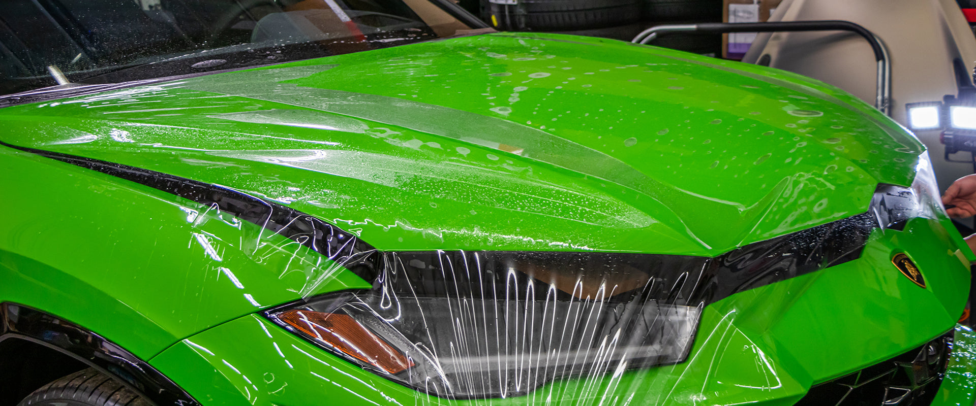Paint Protection Film Luxury Exotic Sports- Cars