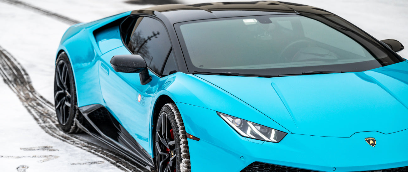 Custom Roof Wrap for Exotic and Luxury Performance Sports Cars in Chicago