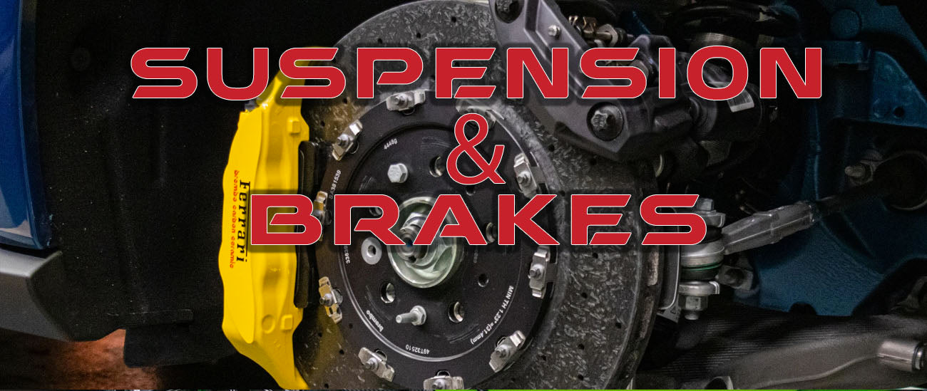 Aftermarket Suspension and Brakes for Exotic Sports Cars and Performance Vehicles in Chicago